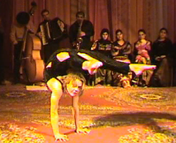 Sissi contorsion - Sissi danse, contorsion, chorégraphie